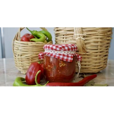 Ev Yapımı Kahvaltılık Közlenmiş Patlıcan Sosu